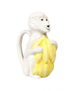CI Monkey jug white