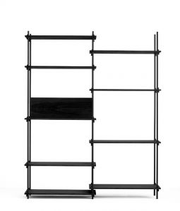 SHELVING SYSTEM DOUBLE <H200/Black> / MOEBE (ムーベ)