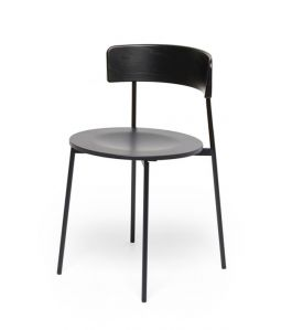 FRIDAY CHAIR / Without Arm/BLACK