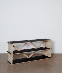 con.temporary furniture SIDE BOARD/CHARCOAL