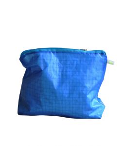 Magic Zipper Pouch / Blue / L
