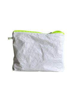 Magic Zipper Pouch / Tyvek / L