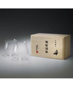 うすはり 葡萄酒器 / 松徳硝子