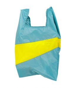 Shopping Bag L /Concept & Fluo Yellow /SUSAN BIJL