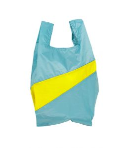 Shopping Bag M /Concept & Fluo Yellow /SUSAN BIJL