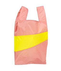 Shopping Bag L /Try & Fluo Yellow /SUSAN BIJL