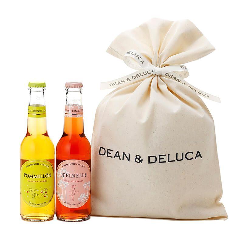 DEAN & DELUCA ノンアルコールシードルバッグ