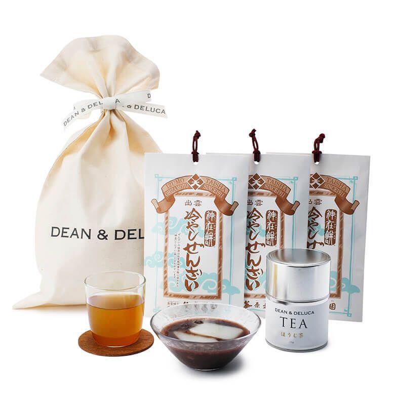 【オンラインストア限定】DEAN & DELUCA 冷やしぜんざいと日本茶のギフト