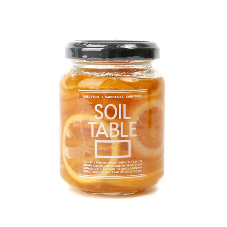 ソイルテーブル レモンのシロップ漬け