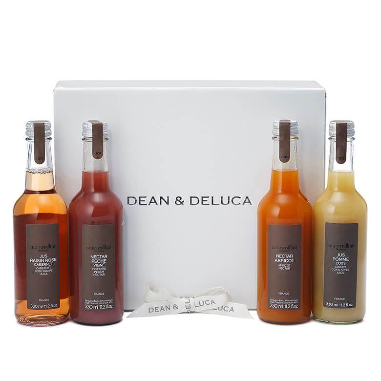 DEAN & DELUCA アランミリア ジュース&ネクターアソート