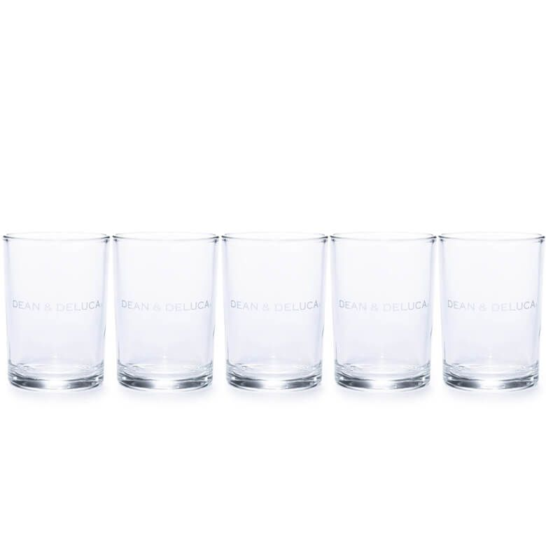 【オンラインストア限定】DEAN & DELUCA グラスS 5個セット