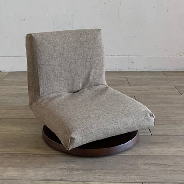 TOCCO 座椅子 ブラウン×ブラウン