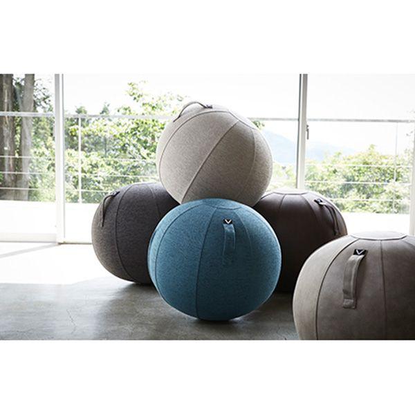 【オンライン限定】vivora シーティングボール ルーノ レザーレット ブラウン