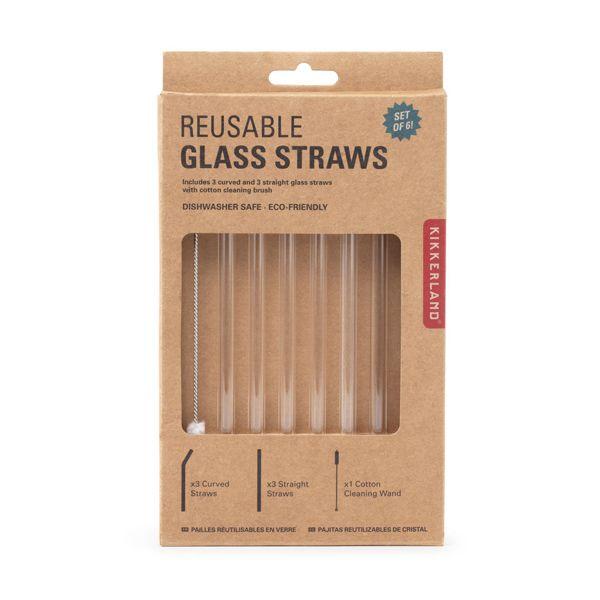 リユーザブル ガラスストロー / REUSABLE GLASS STRAWS