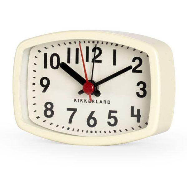 マグネティックアラームクロック / Magnetic Alarm Clock アイボリー