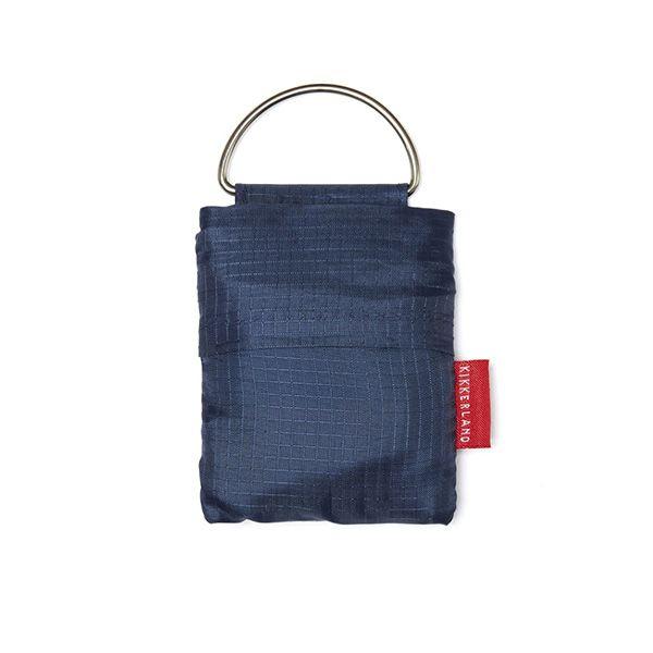 キーリング ショッピングバッグ ブルー