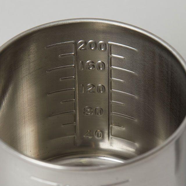 一菱金属 入れ子式メジャーカップ 200cc