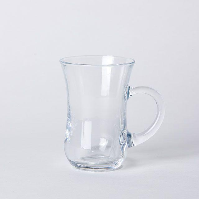 【2点SET】チャイグラスマグ & ソーサー / Pasabahce