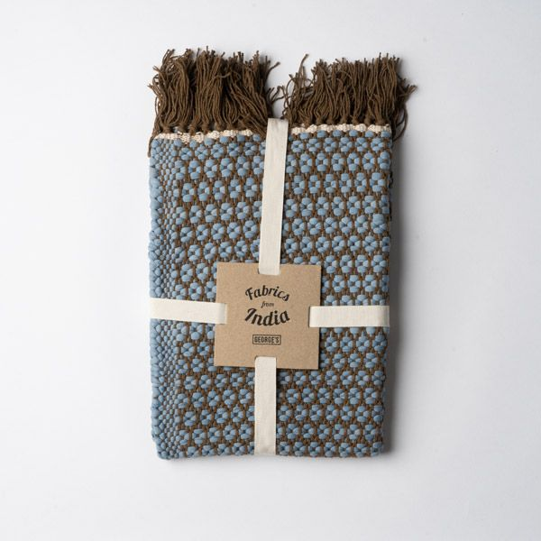 Knit Dobby コーナーマット 45×60 サックス