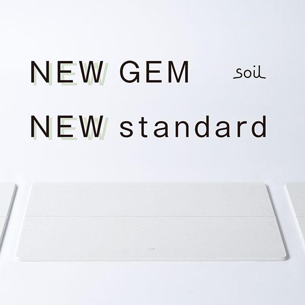 【オンライン限定】soil GEM バスマット standard