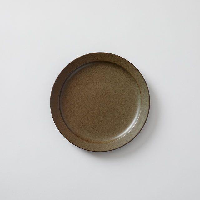 藍染窯×TODAY'S SPECIAL プレート 18cm アッシュ
