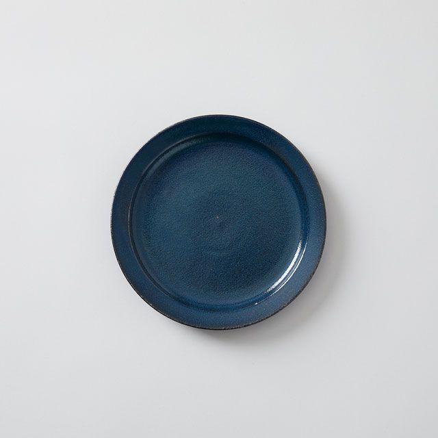 藍染窯×TODAY'S SPECIAL プレート 18cm 藍