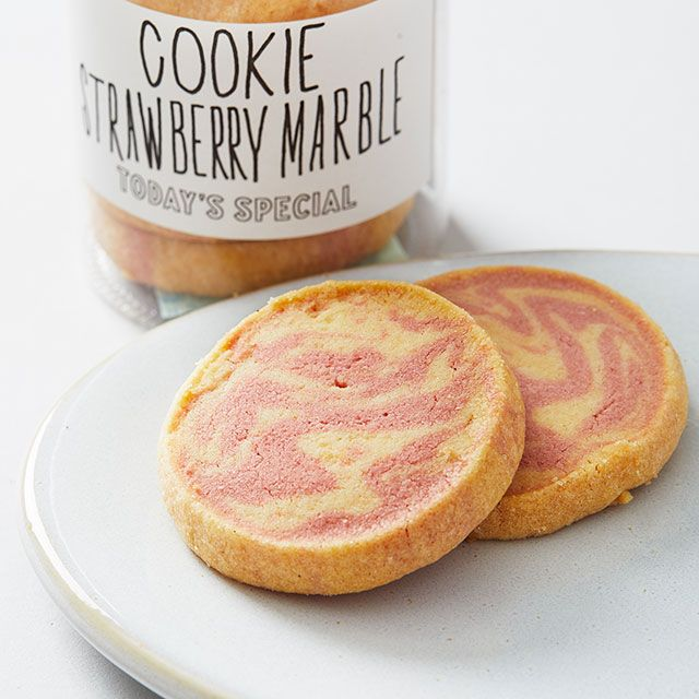 オリジナルクッキー ストロベリーマーブル