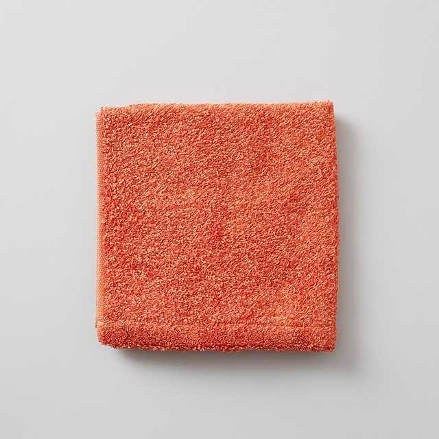 ウォッシュタオル オレンジ / HIPPOPOTAMUS