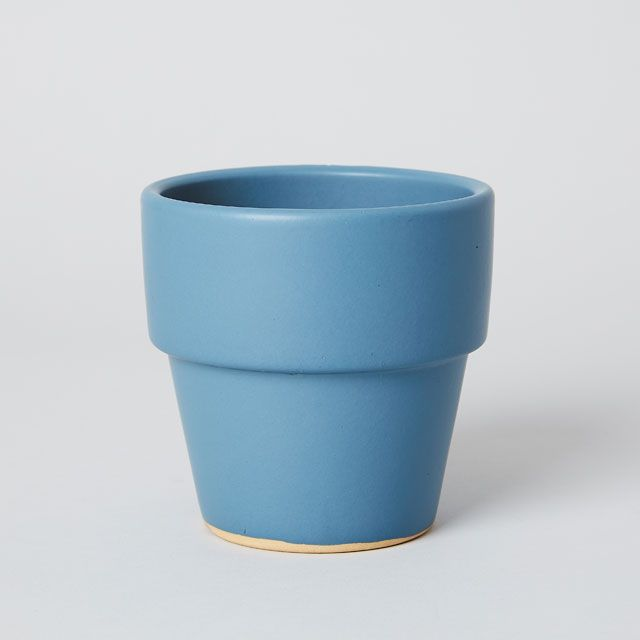 TODAY'S SPECIAL COLORED POT 4号 藍
