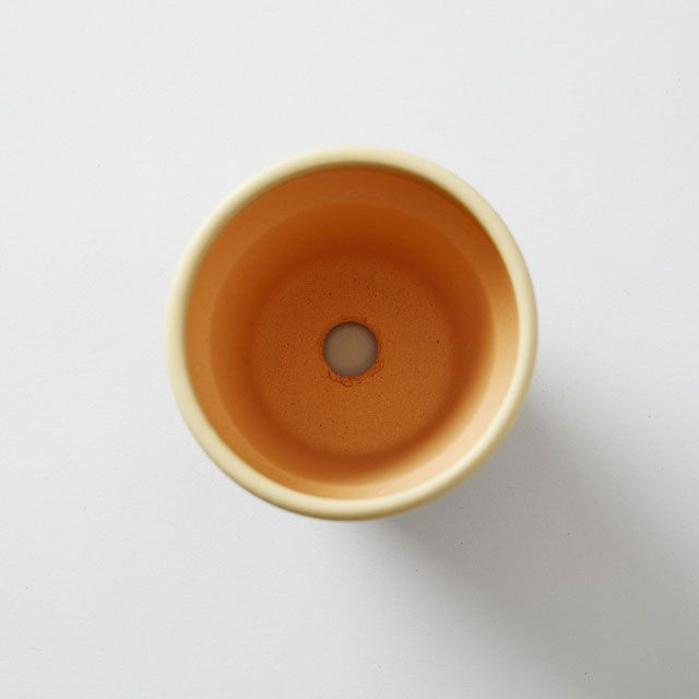 TODAY'S SPECIAL COLORED POT 3号 灰白