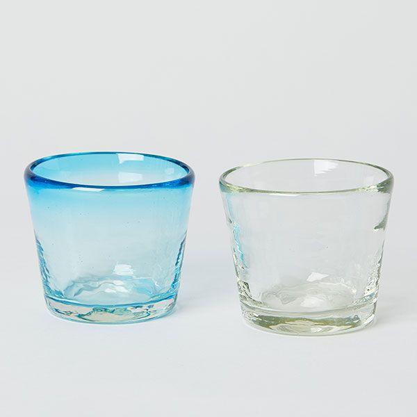 ガラス工房 清天 猪口 クリア
