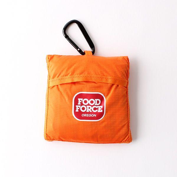 FOOD FORCE OREGON エコバッグ オレンジ