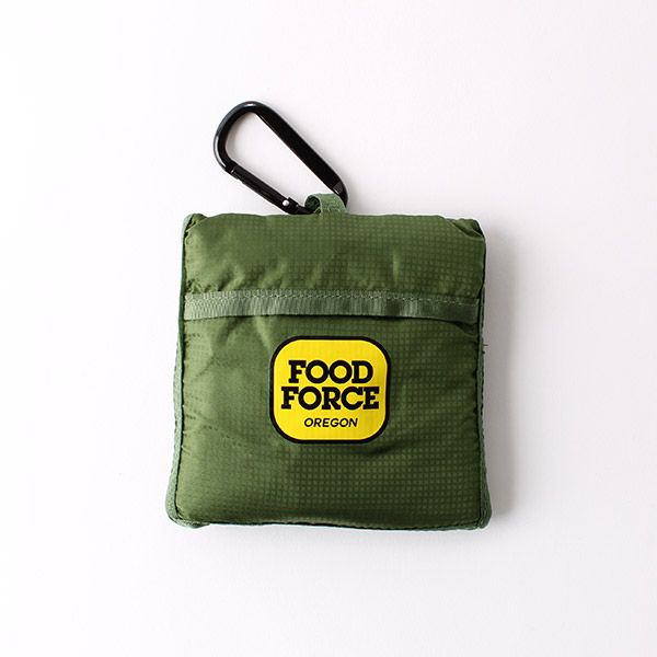 FOOD FORCE OREGON エコバッグ グリーン