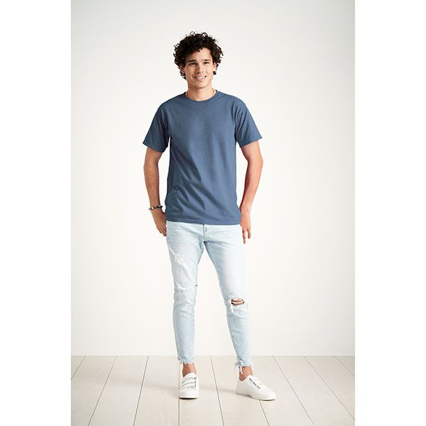 Comfort Colors / アダルトリングスパンTシャツ M シーフォーム