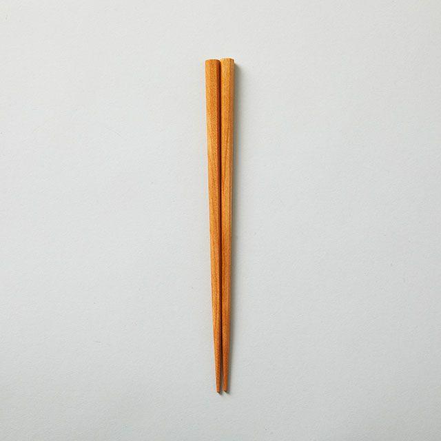 三義漆器店 六角箸 桜 小