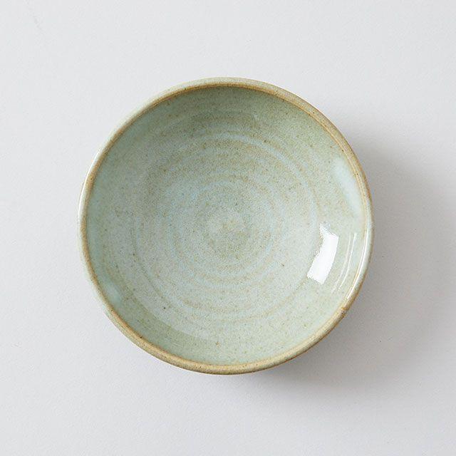 向山窯×TODAY'S SPECIAL KOZARA 3.5寸皿 白萩釉