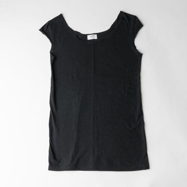 B&H co.フレンチスリーブTシャツ ブラック