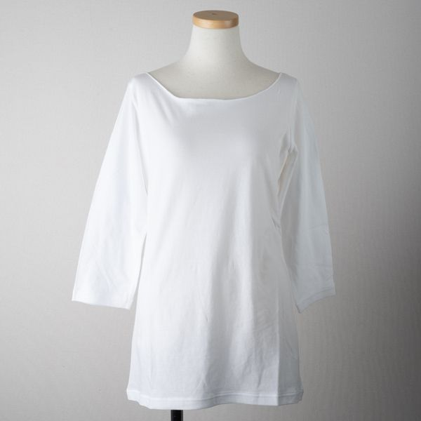 B&H co. 七分袖Tシャツ ブラウン