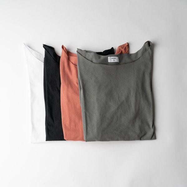 B&H co. 七分袖Tシャツ ホワイト