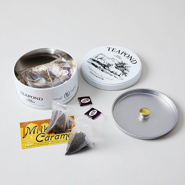 ミルクキャラメル シープ缶 / TEAPOND