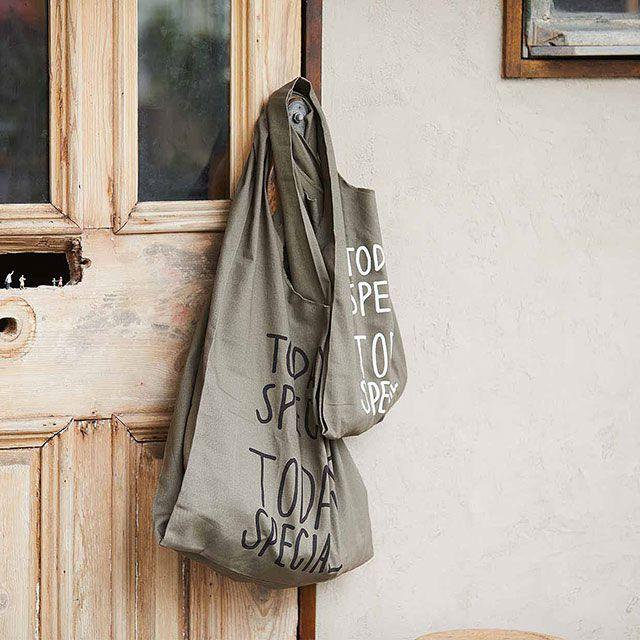 WARM COTTON MINI MARCHE BAG/ウォームコットン ミニマルシェバッグ