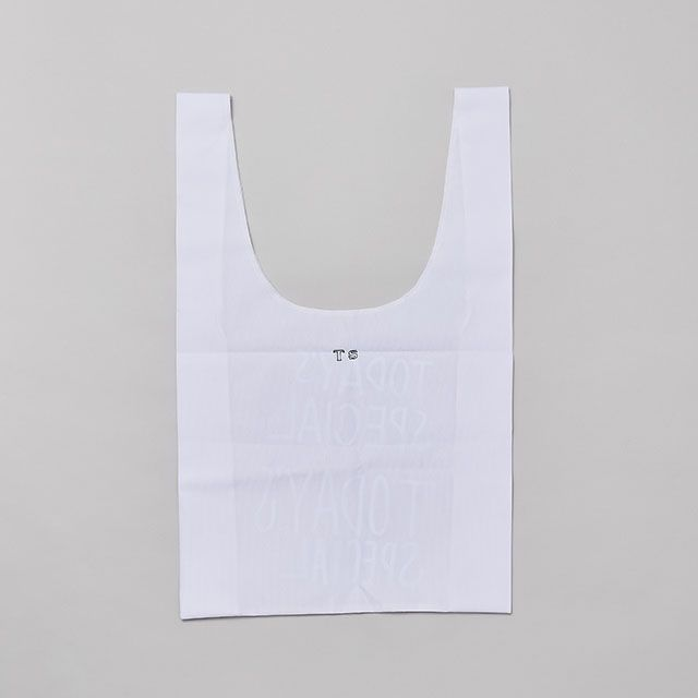 WHITE MARCHE BAG
