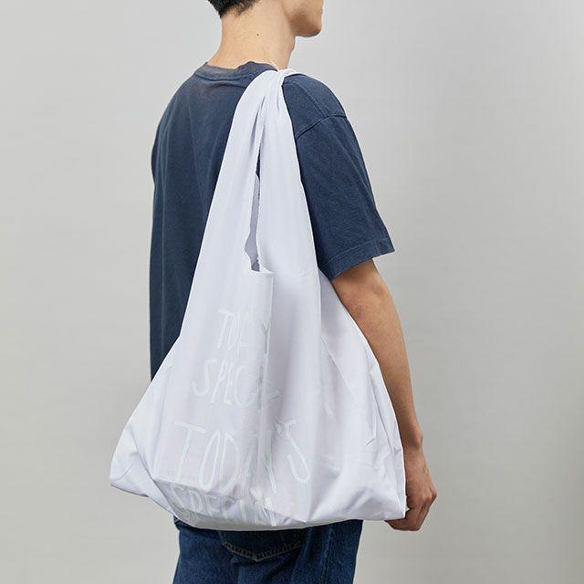 WHITE MARCHE BAG