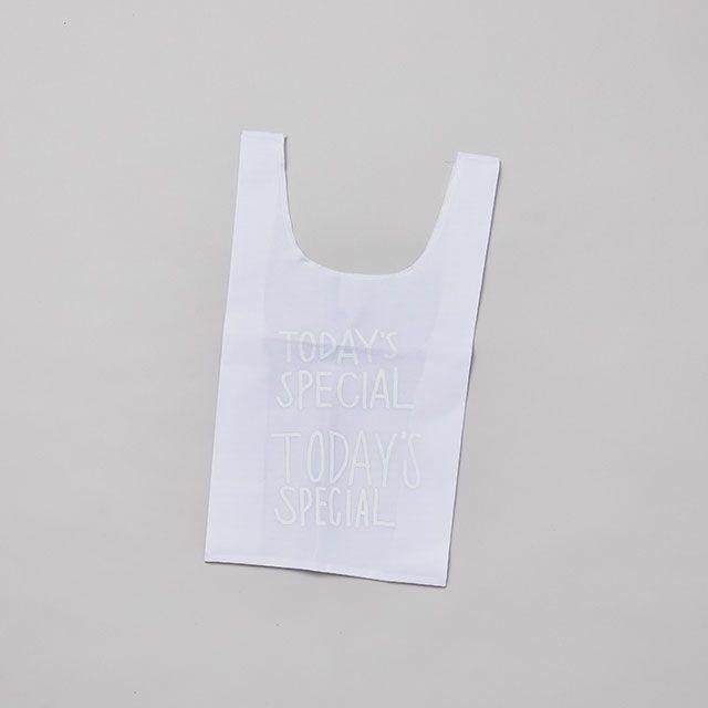 【2サイズセット】WHITE MARCHE BAG 2SET