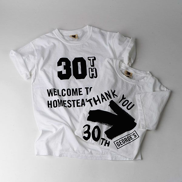 GEORGE'S 30th Tシャツ S THANK YOU