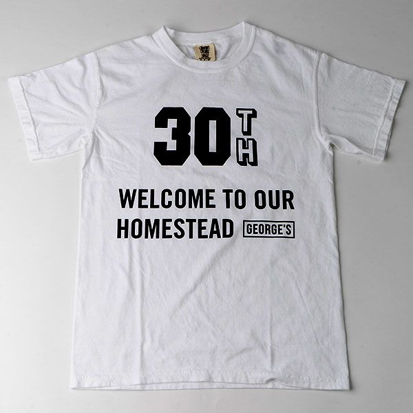 GEORGE'S 30th Tシャツ L HOME STEAD