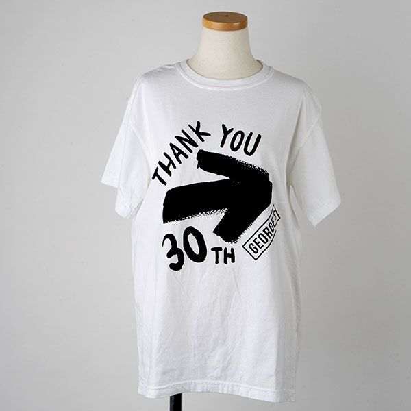 GEORGE'S 30th Tシャツ L THANK YOU