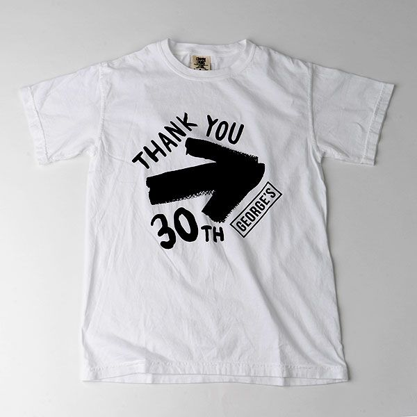 GEORGE'S 30th Tシャツ M THANK YOU