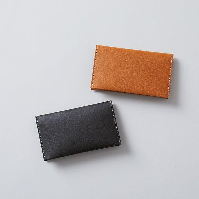 リサイクルレザーカードケース ブラック / TODAY'S SPECIAL