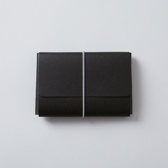 リサイクルレザーポーチ ブラック / TODAY'S SPECIAL